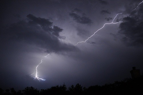 With summer comes our daily thunderstorms and lightning!